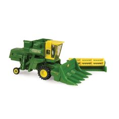 Ertl Collectibles 1:64 John Deere 95 Combine With Grain And Corn Heads: Amazon.ca: Toys & Games