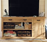 Potterybarn Reclaimed Wood Entertainment Console
