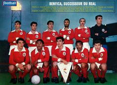 SL Benfica, 1962 European Cup final, Amsterdam.  Source: Football MAGAZINE