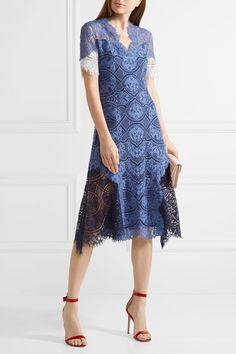 Jonathan Simkhai - Corded Lace Dress - Storm blue - US4