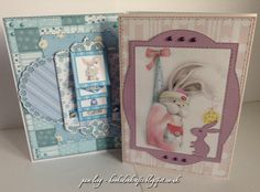 Crafters Companion  Centura Pearl Card, Core'dinations card,  Papers from Bebunni Baby CD Design sets and Coordinating Papers,  Waterfall Cards,Sentiments. Embellishments and Toppers