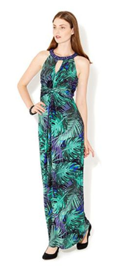 MONSOON Lois Butterfly Print Maxi Dress  UK16 EUR44 MRRP: £79.00 GBP - AVI Price: £52.00 GBP