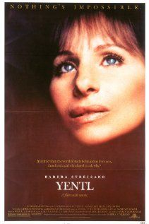 Yentl by Barbra Streisand.  A 3-hour movie about a young woman whose parents have died.  She has an unquenchable thirst for scripture as her dad used to teach her in secret because scripture was only to be read by men.  She pursues the study of scripture in a Yeshiva after her father dies.  Beautiful songs and scenery in this musical.