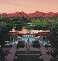 The Hyatt Gainey Ranch Resort in Scottsdale, AZ.