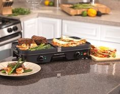 """They're called pancribs, and they will be my masterpiece.Promising review: """"It's everything I expected. I love being able to control the temperature on both sides. I can grill and griddle at the same time if I choose. Cleanup is really easy. That's a BIG plus in my world. I've had other electric grills in the past that made me work too hard at cleanup time. I vote YES and would recommend this product. Happy grilling!"""" —MarinaGet it for $35.58."""
