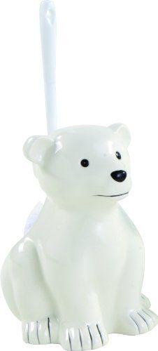 Zoo WC-Bürstengarnitur Eisbär von Sanwood Sanwood…