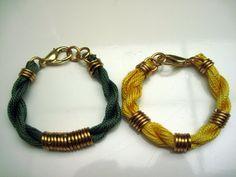 Thready Bracelets #bracelet #inspiration
