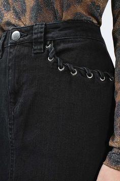 **Caius Denim Maxi Skirt By Unique - Topshop Europe