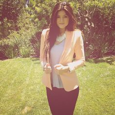 Kylie Jenner, she is my inspiration for everything. She's literally perfect.