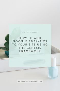 Want to know how much traffic your site is getting?  The pages that are generating the most traffic? Your demographics.. and so much more?!  Google Analytics is a really great tool for all this information! Take a look at this tutorial: How to Add Google Analytics to your Site using Genesis Framework.