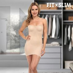 Look better than ever in your most seductive dresses and skirts thanks to the Body & Breast Discreet Shaper! This comfortable and discreet body shaper mould