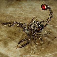 steampunk scorpion clay - Google Search