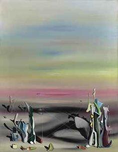 Yves Tanguy La Lumiere, La Solitude 1940 x cm) Surrealism Painting, Painting Collage, Large Painting, Paintings, Yves Tanguy, Art Courses, A Level Art, Surreal Art, Famous Artists