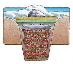 How To Build a Root Cellar From Recycled Materials - LivingGreenAndFrugally.com