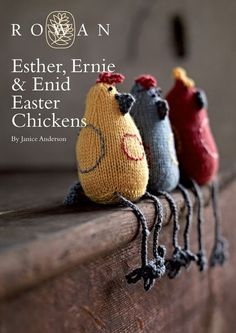 FREE Easter chick toy knitting pattern - download it today at LoveKnitting!