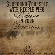 Surround yourself....
