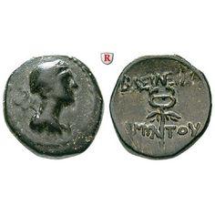 Galatien, Königreich, Amyntas, Bronze, ss/vz: Amyntas ca. 36-25 v.Chr. Bronze 17 mm. Büste des Hermes r. mit Petasos und Caduceus… #coins