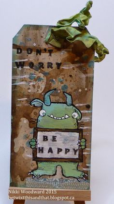 Betwixt this and that : The Art of Self Expression: Don't worry. Be happy ....