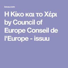Η Κίκο και το Χέρι by Council of Europe Conseil de l'Europe - issuu