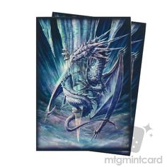 New Arrival Max Pro 50 Standard Protector Sleeves - Arctic Dragon