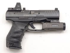 Speaking of Walthers...the PPQ has the sweetest stock trigger I've ever pulled! This one look nice with the red dot.