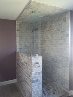 1000 Images About Master Bath On Pinterest Half Walls