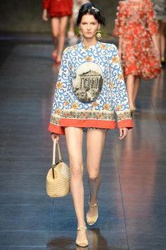 Dolce & Gabbana Spring 2014 Ready-to-Wear Collection Slideshow on Style.com