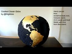 "24 Likes, 2 Comments - HB Globes (@hbglobes) on Instagram: ""Cracked Ocean Globe No. 128 / 2017 . . . . . #hbglobes #crackedearth #homedecor #interiordesign…"""