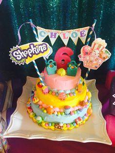 DIY Shopkins Cake