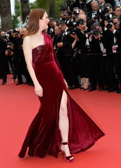 Julianne Moore in Givenchy Couture, 2015 - The Most Daring Dresses on the Cannes Red Carpet - Photos