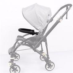 comprar Accesorios para cochecito de bebé Trolley apoyabrazos parachoques  Bar manillar con PU cuero tela Oxford a70c1051161
