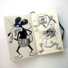Mickey Mouse and Donald Duck | Jon Macnair