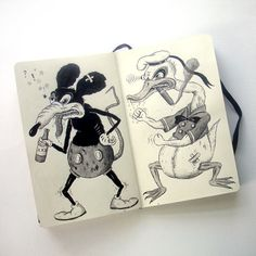 Sketchbook: Jon MacNair   Book By Its Cover