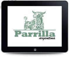 Diseño de logotipo para Restaurante Parrilla Argentina