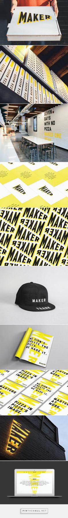 Maker - The Community Website - created on Restaurant Branding, Logo Branding, Branding Design, Logo Design, Graphic Design, Logos, Visual Identity, Brand Identity, Create Website