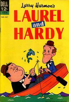 Laurel and Hardy # 2 / Dell Comics