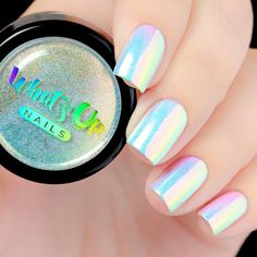 Now you can create white chrome nails using this amazing nail product! Apply over different colors to see different effects! This is hands down magical unicorn powder, it gives you so many different varieties of manicure! Weight: 1 gram