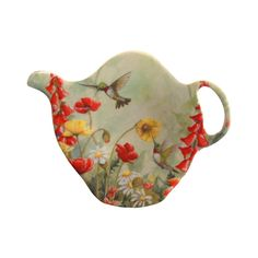 Hummingbird Print - Tea Bag Holder