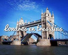 Empezamos! Tu primer viaje a #Londres? Una buena opción es una visita de 3 días (toda la info en vivelondres.es) #trip #london #greatbritain