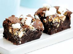 Black and White Rich Brownies