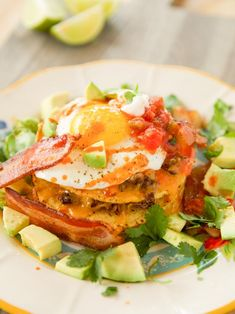 Get Breakfast Tostada Recipe from Food Network