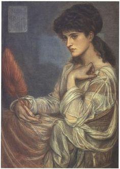 Dante Gabriel Rossetti : Mrs Zambaco