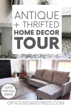 Raise your hand if you love antique home decor. Raised both hands? You've come to the right place! Here's a home tour featuring antique and thrifted finds. #antiquedecor #thrifteddecor #vintagedecor #rusticdecor #secondhanddecor Antique Decor, Vintage Decor, Rustic Decor, Sustainable Design, Sustainable Living, Eco Friendly House, House Tours, Sustainability, Thrifting