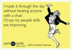 I always love to sharpen my people skills ;)