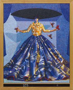 Yves Clerc, «N°273» (2007) - продано за £37,500 на торгах Under the Influence аукционного дома Phillips.  О других сделках и лотах, включая работы современных российских и украинских авторов - в Артхиве.