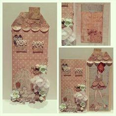 House Pocket Tag Giftcard Holder created by Bona Rivera-Tran.