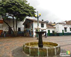 Chorro de Quevedo, La Candelaria, Bogotá. Colombia