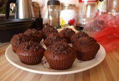 Exkluzivní čokoládové muffiny Oreo Cupcakes, Cupcake Cookies, Czech Recipes, Cheesecake Brownies, Christmas Sweets, Kefir, Cupcake Recipes, Nutella, Sweet Recipes