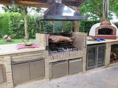 Backyard Grills Replacement Parts . Backyard Grills Replacement Parts . Outdoor Cooler Von Blastcool Mediterran In 2020 Pit Bbq, Backyard Bbq Pit, Patio Grill, Patio Gas, Grill Gas, Backyard Ideas, Outdoor Barbeque, Outdoor Kitchen Patio, Outdoor Kitchen Design