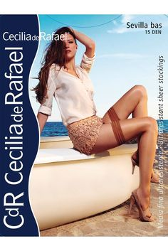 Cecilia de Rafael Sevilla Gloss Shiny Thigh High